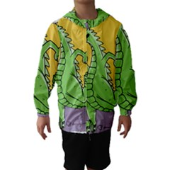 Godzilla Dragon Running Skating Hooded Wind Breaker (Kids)