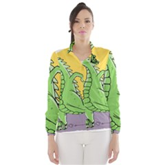 Godzilla Dragon Running Skating Wind Breaker (Women)