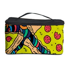 Pizza Pattern Cosmetic Storage Case