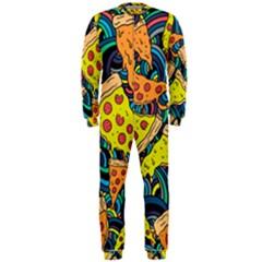 Pizza Pattern OnePiece Jumpsuit (Men)
