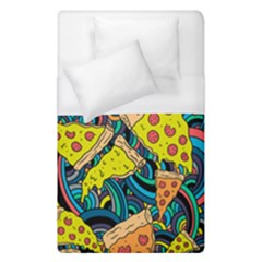Pizza Pattern Duvet Cover (Single Size)