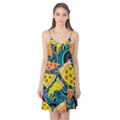 Pizza Pattern Camis Nightgown
