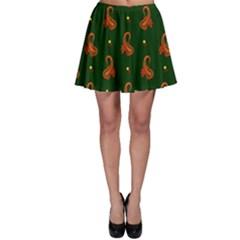 Paisley Pattern Skater Skirt