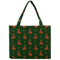 Paisley Pattern Mini Tote Bag