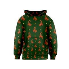 Paisley Pattern Kids  Pullover Hoodie