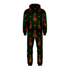 Paisley Pattern Hooded Jumpsuit (Kids)