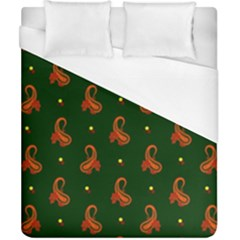 Paisley Pattern Duvet Cover (California King Size)