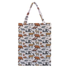 Wild Animal Pattern Cute Wild Animals Classic Tote Bag