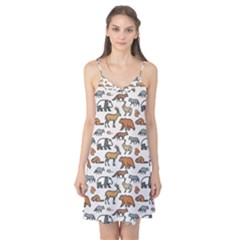 Wild Animal Pattern Cute Wild Animals Camis Nightgown