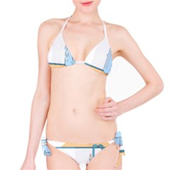 Presentation Girl Woman Hovering Bikini Set