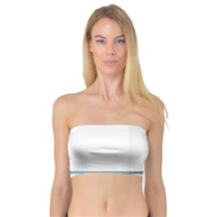 Presentation Girl Woman Hovering Bandeau Top