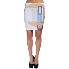 Presentation Girl Woman Hovering Bodycon Skirt