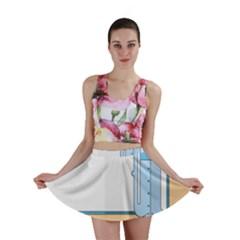Presentation Girl Woman Hovering Mini Skirt