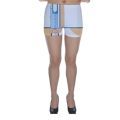 Presentation Girl Woman Hovering Skinny Shorts