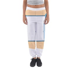 Presentation Girl Woman Hovering Women s Jogger Sweatpants