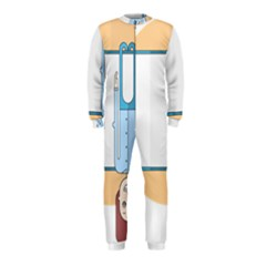 Presentation Girl Woman Hovering OnePiece Jumpsuit (Kids)