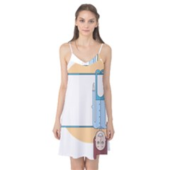 Presentation Girl Woman Hovering Camis Nightgown
