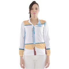 Presentation Girl Woman Hovering Wind Breaker (Women)