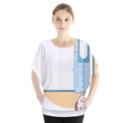Presentation Girl Woman Hovering Blouse
