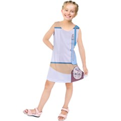 Presentation Girl Woman Hovering Kids  Tunic Dress