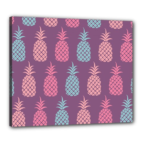 Pineapple Pattern Canvas 24  x 20