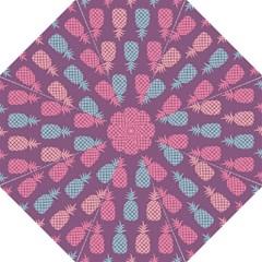 Pineapple Pattern Straight Umbrellas