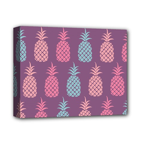 Pineapple Pattern Deluxe Canvas 14  x 11