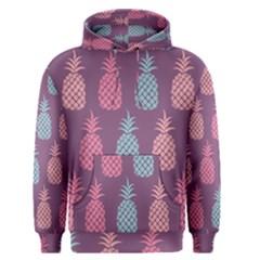 Pineapple Pattern Men s Pullover Hoodie