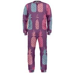 Pineapple Pattern OnePiece Jumpsuit (Men)