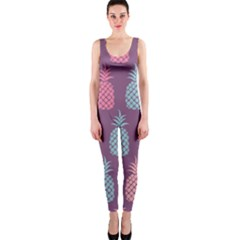Pineapple Pattern OnePiece Catsuit