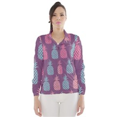 Pineapple Pattern Wind Breaker (Women)