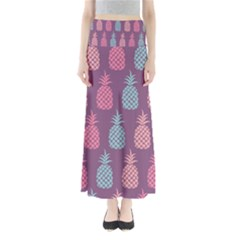 Pineapple Pattern Maxi Skirts