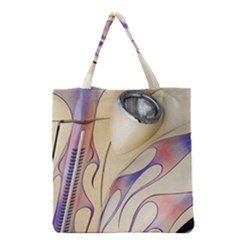 Pin Stripe Car Automobile Vehicle Grocery Tote Bag