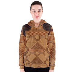 Mosaic The Elaborate Floor Pattern Of The Sydney Queen Victoria Building Women s Zipper Hoodie