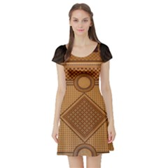 Mosaic The Elaborate Floor Pattern Of The Sydney Queen Victoria Building Short Sleeve Skater Dress