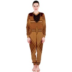 Mosaic The Elaborate Floor Pattern Of The Sydney Queen Victoria Building OnePiece Jumpsuit (Ladies)