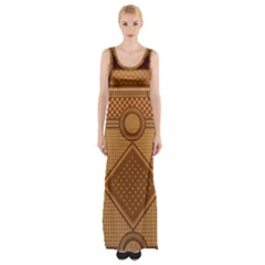 Mosaic The Elaborate Floor Pattern Of The Sydney Queen Victoria Building Maxi Thigh Split Dress