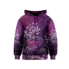 Purple Lotus Kids  Zipper Hoodie