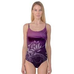 Purple Lotus Camisole Leotard