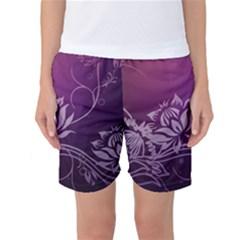 Purple Lotus Women s Basketball Shorts