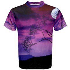 Purple Sky Men s Cotton Tee