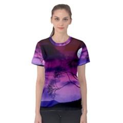 Purple Sky Women s Sport Mesh Tee