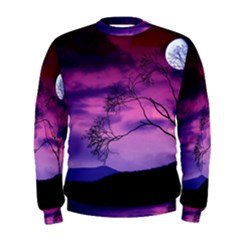 Purple Sky Men s Sweatshirt