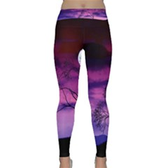 Purple Sky Classic Yoga Leggings