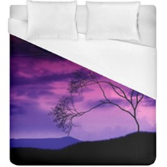 Purple Sky Duvet Cover (King Size)