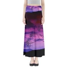 Purple Sky Maxi Skirts