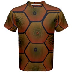Psychedelic Pattern Men s Cotton Tee