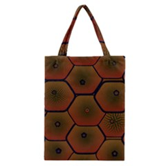 Psychedelic Pattern Classic Tote Bag