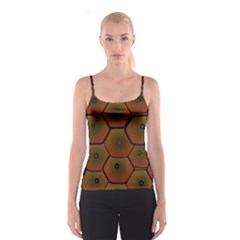 Psychedelic Pattern Spaghetti Strap Top