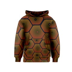 Psychedelic Pattern Kids  Pullover Hoodie